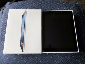 Apple iPad 3rd Gen With 64 GB Memory And Has WiFi And Cellular!