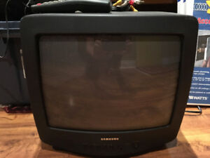 Samsung Portable Colour TV + Remote - Free