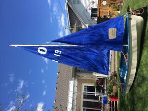 14 1/2 foot Sailboat