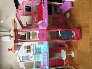 Barbie house toy