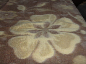 European Blanket size (TWIN)  (92 X 68 inches)