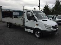 Mercedes-Benz Sprinter xstended fram XL LWB 2.2 313 CDI dropside 6 meater body