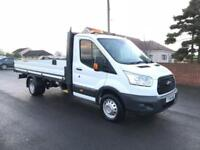 2014 64 FORD TRANSIT 125 350 L3 LWB 13FT ONE STOP ALLOY DROPSIDE 2.2 TDCI DIESE