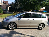 2007 Mazda5 GT, <100k km,leather seats,power moonroof, reduced $