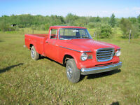 1963 Studebaker Champ Pick up.