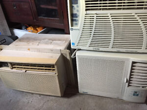 3 Window Air Conditioners in Good Working Condition from $70