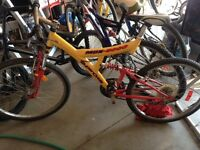 2 bikes 26 inch tires $60 each call after 5 pm 5199812949