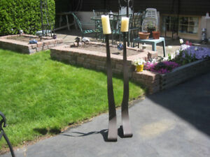 Candle stands holders