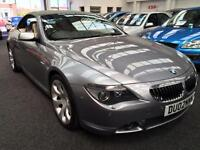 2005 BMW 6 SERIES 645Ci Automatic From GBP10850+ Retail Package
