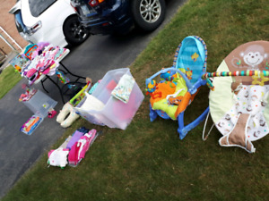 Yard sale for baby/ kids clothing and stuff