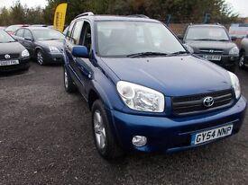 Toyota RAV4 2.0 VVT-i XT3 5dr (blue) 2004