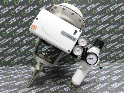 """USED Flowserve 520MD-02-W1DEE-0000-GM2 Actuated Control Valve 1"""" 150 Class"""