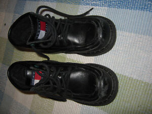 Tommy Leather boots (size 12 in kids) Great for Fall St. John's Newfoundland image 1