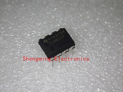 10pcs Tl082cp Tl082 Dip-8 Ic Original Ti