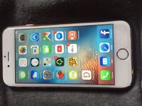 iPhone 6 white and gold 16gb on EE