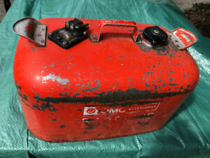 Metal 6-Gallon Gas Tank for Boats