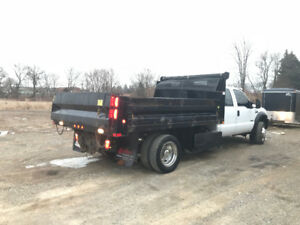 2007 Diesel F-450 Crew Cab Dump Truck for sale