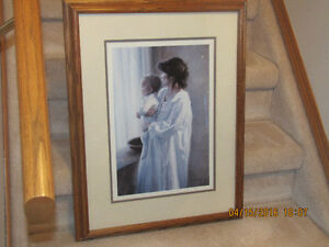Framed Print - Mother and Baby