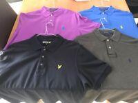 Ralph Lauren and Lyle Scott Polo Shirts