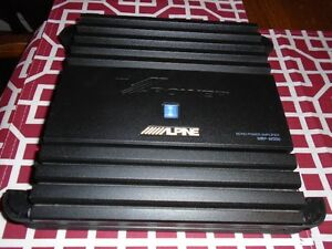 ALPINE V-POWER MRP M500 MONO BLOCK AMPLIFIER WORKS GREAT