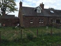 TO LET - 2 Bedroom Cottage £500pcm & deposit. Garvald, Haddington.
