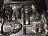 Bosch drill set.