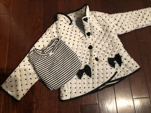 Toddler Spring Size 4 Jacket with coordinating shirt