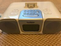Goodmans GCR1870i radio/music/alarm docking station