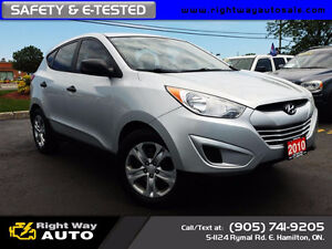 2010 Hyundai Tucson GL | 170Km | SAFETY & E-TESTED