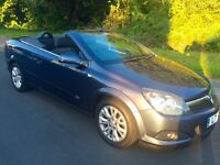 Vauxhall Astra Convertible Sport twin top 2010 Air con, Bluetooth, low miles