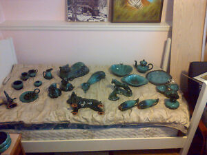 22 pc collection - BLUE MOUNTAIN POTTERY - $450 Excellent Cond.