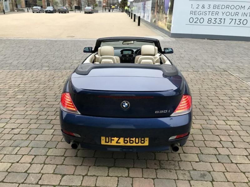 2005 Bmw 630i Convertible Drives Great Head Turner In
