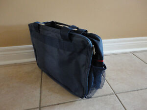 Brand new with tags Trafalgar navy blue cabin travel bag London Ontario image 4