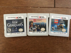 Three 3Ds Games