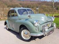 1955 MORRIS MINOR Restored recently, good underneath, refurbished 1098cc