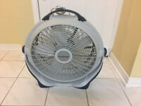 Very powerful FanPowerful fan perfect for your basement gym or h
