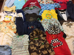 cute boys 6-9 and 6-12 month clothes
