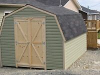 NEW BABY BARN SHED