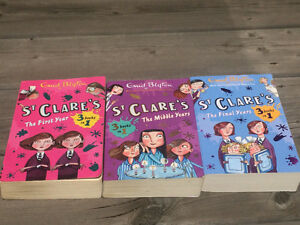 St Clare's book series - 3 books in 1 x 3 sets