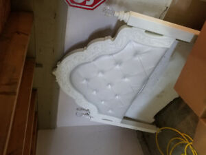 Princess bed great bed come dresser and night table its a double