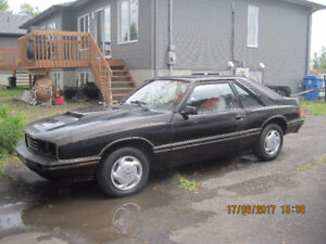 Mercury Capri Black Magic 1981