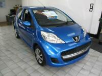 Peugeot 107 1.0 12v Urban 5 Door Hatchback in Blue Metallic SALE NOW