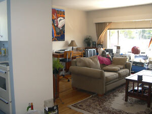 kits Big and Beautiful 1Br suite 2nd floor with Oak flooring