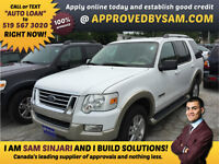 """Ford Explorer - BAD CREDIT - TEXT """"AUTO LOAN"""" TO 519 567 3020"""