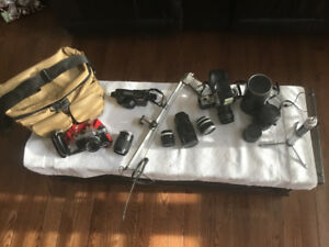 VINTAGE CAMERAS and EQUIPMENT