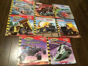 Lot of 8 Softcover TONKA Kids Books - Great condition