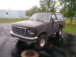 1992 Ford Bronco 3500 OBO