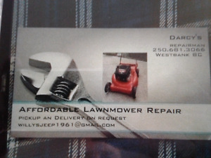 Affordable small engine repair and service
