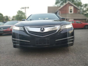 2015 Acura TLX V6 Tech Sedan. Navigation. Blind Spot Sensors.
