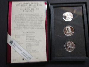 Hockey Hall of Fame Coin Set